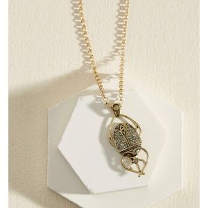 Beetle Pendant Necklace from Modcloth!